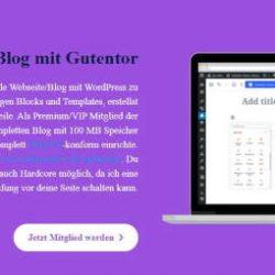 Teste WordPress im Lifestyler24 Netzwerk