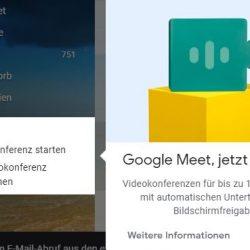 Konferenz Chat Google Meet nun kostenfrei